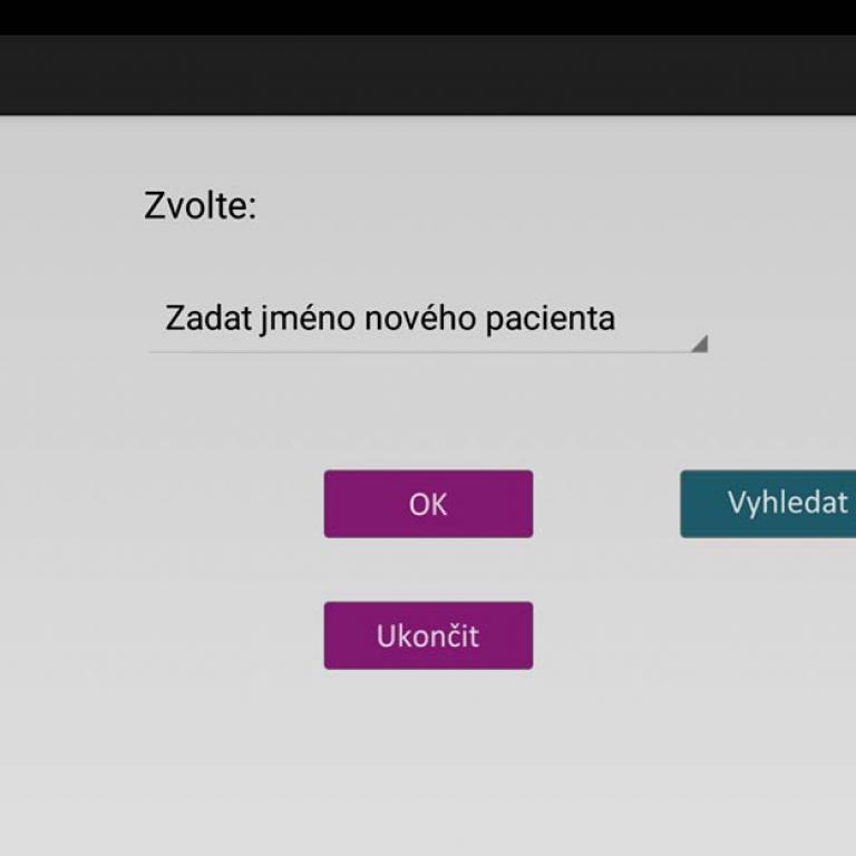 Vývoj aplikací pro Android - aplikace Electreasure pro měření plochy ran